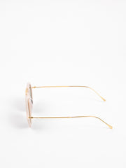 Illesteva / Roma II / Cotton Candy With Grey Flat Lenses - I Visionari