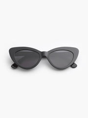 lllesteva / Pamela / Black With Grey Flat Lenses