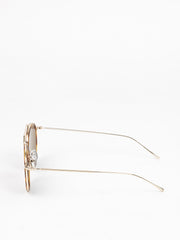 Illesteva / Winwood Ace / Havana / Gold With Grey Flat Lenses - I Visionari