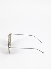 Illesteva / Mykonos Ace / Yellow Gunmetal With Grey Flat Lenses - I Visionari