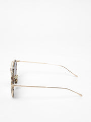 Illesteva / Wynwood Ace / White Tortoise Gold With Bright Rose Mirror - I Visionari