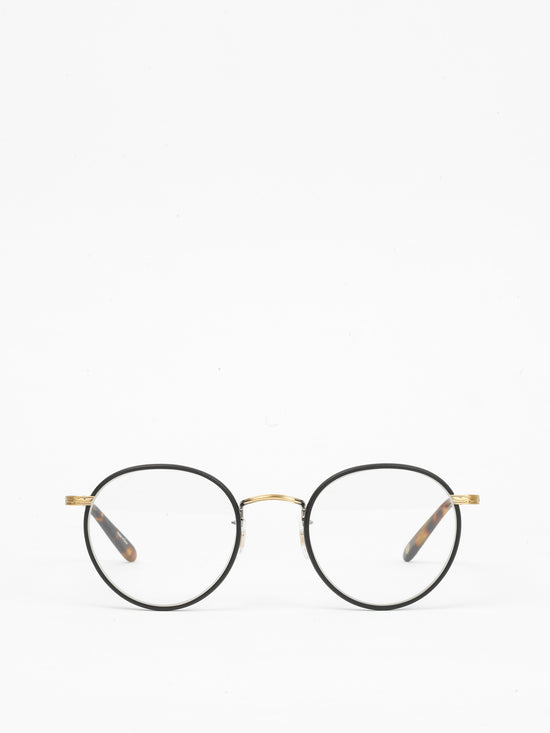 Garrett Leight / Wilson / Matte Black and Tortoise - I Visionari