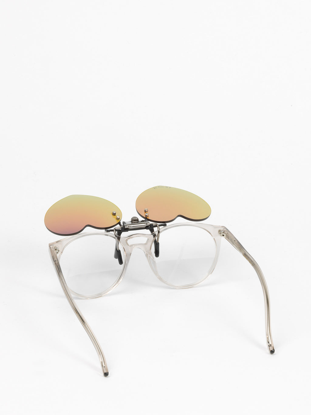Julian Zigerli x Lunettes Kollektion / Heart Clip On / Purple - I Visionari