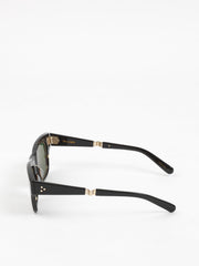 Mr. Leight / Go S / Black 12k White Gold