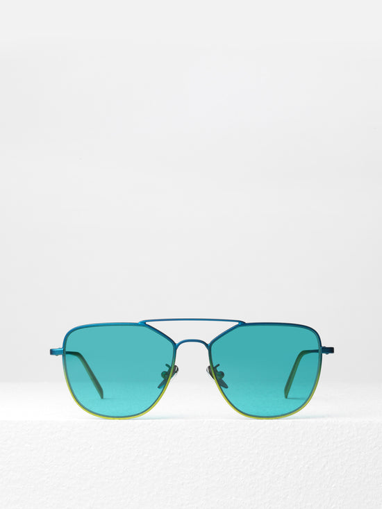 Super for I Visionari / Daze / Turquoise + Lime