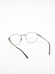 Vintage / Gianmarco Venturi / V455 / Matte Brushed Silver and Tortoise