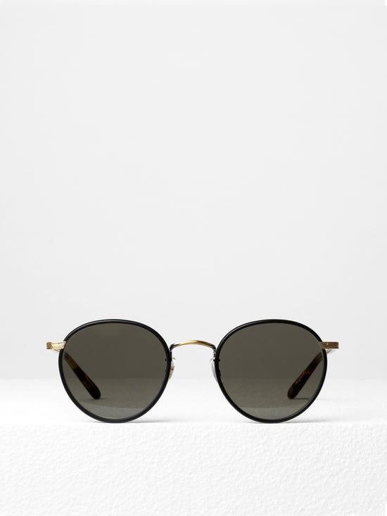 3f7f73801d Garrett Leight   Wilson   Matte Black Matte Spotted Tortoise With Pure Grey  Glass - I