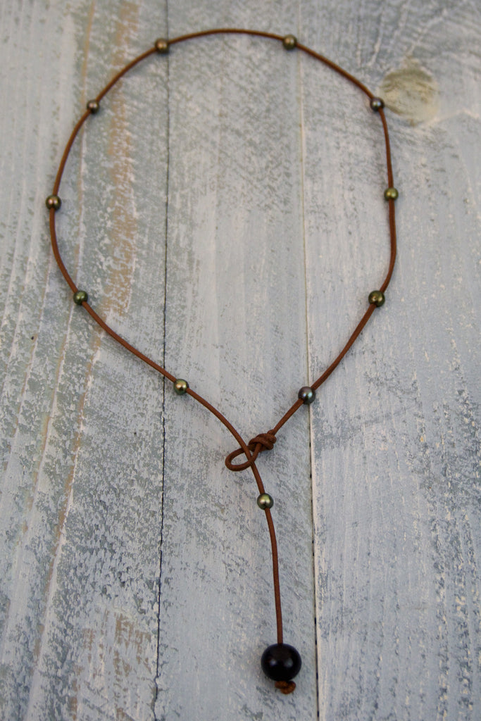 Emerald Simplicity Necklace