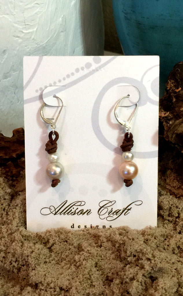 Champagne Bubbles Earrings | Allison Craft Designs