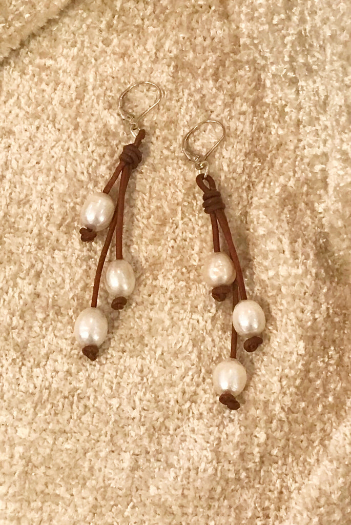 Trinity Earrings 2 1/2"