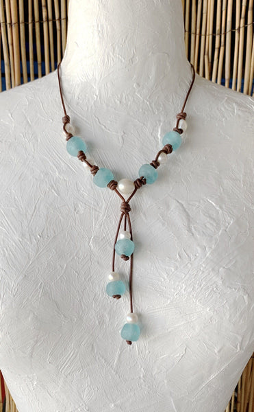 Ocean Pearl Necklace