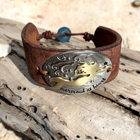 Mermaid at Heart Cuff