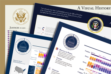 A Visual History of the US Presidency, Senate, House, and Supreme Court - Bundle!