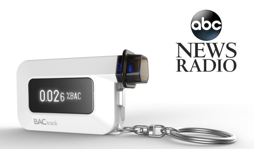 BACtrack C6 Featured Nationwide on ABC News Radio