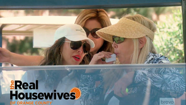 The Real Housewives of Orange County Don't Drink and Drive... Golf Carts