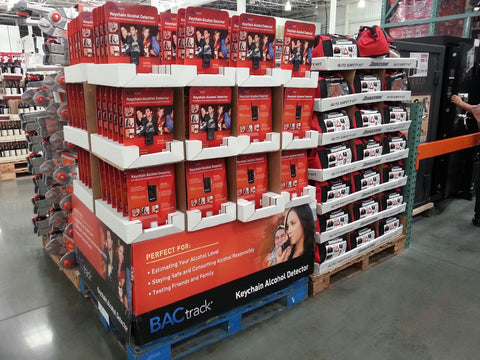 BACtrack Keychain in Costco