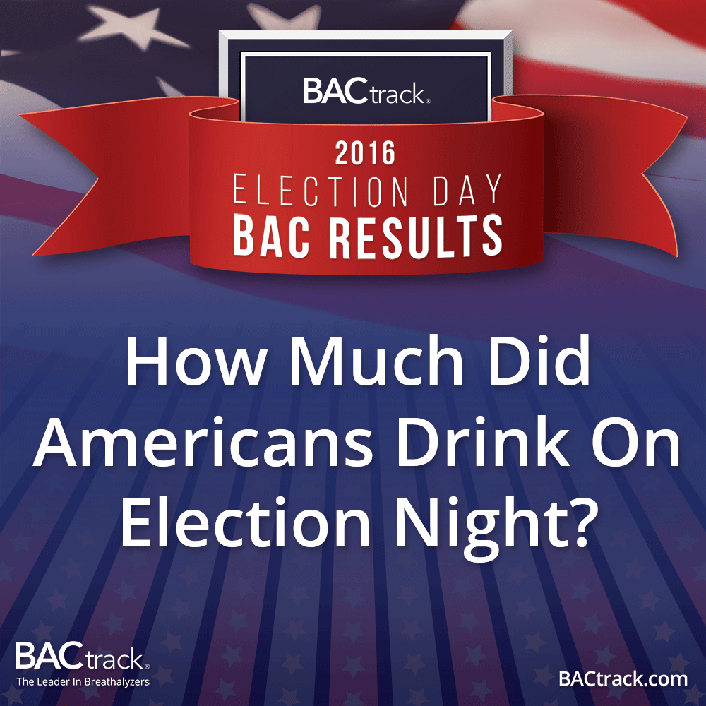 BACtrack Consumption Report - 2016 Election