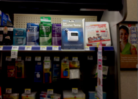 BACtrack S35 on Walgreens Shelf