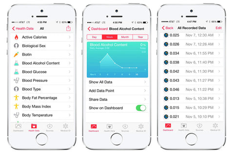 BACtrack App Now Fully Integrated with Apple Health