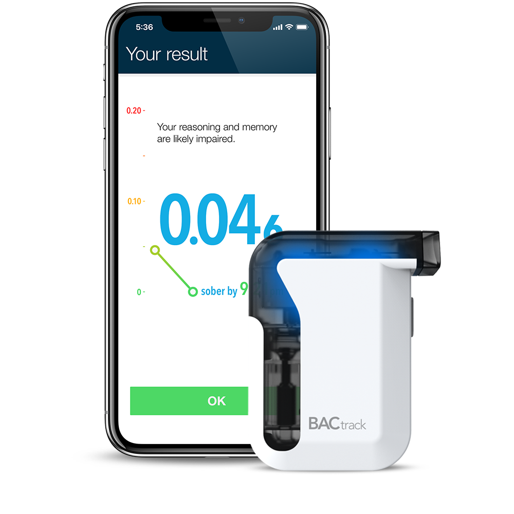 BACtrack Mobile Breathalyzer for iPhone & Android Devices