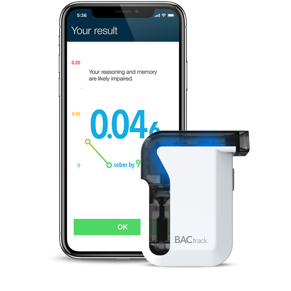 BACtrack Smartphone Breathalyzers for iPhone & Android