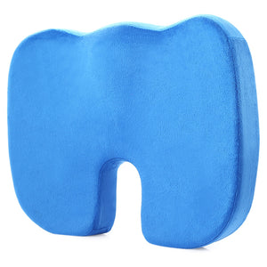 Coccyx Orthopedic Memory Foam Seat Cushion for Chair Car Office - Gurdeep Singh Cheema's Online Store India & abroad