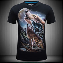 Load image into Gallery viewer, Men's animal T-Shirt orangutan/gas monkey/Wolf 3D Printed T-Shirts Men Funny tees tops tee shirt large size - Gurdeep Singh Cheema's Online Store India & abroad