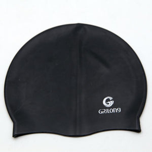 12 Piece Solid Swimming Cap 100% Silicone Swimming Hats Water-proof Adult Caps Men Women Children - Gurdeep Singh Cheema's Online Store India & abroad