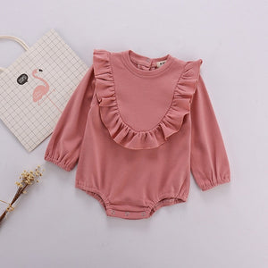 Baby Boys Clothes Spring Baby Girls Rompers Cotton Infant Newborn Baby Girl Clothes Long Sleeve Princess Baby Girl Romper - Gurdeep Singh Cheema