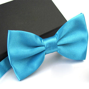 1Pc Men's Bow Tie Fashion Classic Satin Tuxedo Ties For Men Wedding Party Adjustable Bowtie Butterfly Mens Ties - Gurdeep Singh Cheema's Online Store India & abroad
