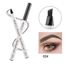 Load image into Gallery viewer, 4 Colors 4 Head eyebrow pencil microblading eyebrow tattoo pen for brwi eyebrows shades makeup cosmetics sourcil eye brow pencil - Gurdeep Singh Cheema