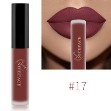 Load image into Gallery viewer, NICEFACE Lip Gloss 26 Colors Nude Matte Liquid Lipstick Mate Waterproof Long Lasting Moisturizing Lipgloss Lip Makeup Cosmetics - Gurdeep Singh Cheema