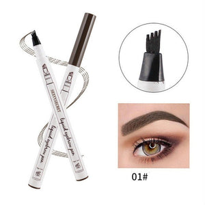 4 Colors 4 Head eyebrow pencil microblading eyebrow tattoo pen for brwi eyebrows shades makeup cosmetics sourcil eye brow pencil - Gurdeep Singh Cheema