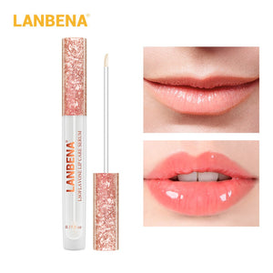 LANBENA Lip Care Serum Lip Plumper Repairing Reduce Lip Mask Fine Lines Increase Reduce Fine Lines Moisturizing Lip Care TSLM1