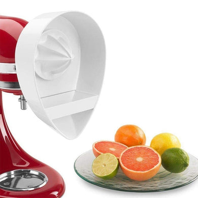 Juice Attachment for Kitchenaid Stand Mixers (4.5QT/5QT) Citrus Juicer Stand Mixer Attachment Reamer Dishwasher-Safe