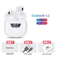 Load image into Gallery viewer, TWS Wireless Earphones Bluetooth 5.0 Headphones IPX7 Waterproof Earbuds LED Display HD Stereo Built-in Mic for Xiaomi iPhone