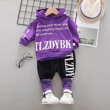 Load image into Gallery viewer, 2020 Autumn Baby Clothes Children Boys Girls sport letters Hoodies Pants 2Pcs/sets Toddler Active Clothing Infant Kids Tracksuit