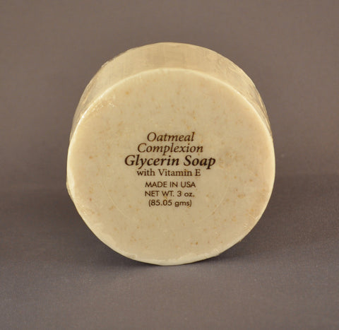 Oatmeal Complexion Glycerin Soap