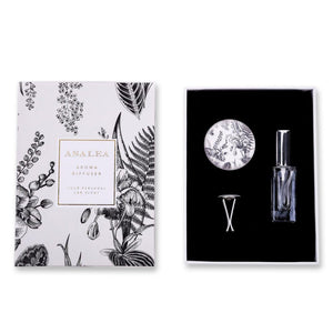 ASALEA Art Deco Flowers Duft Car Diffuser Packaging