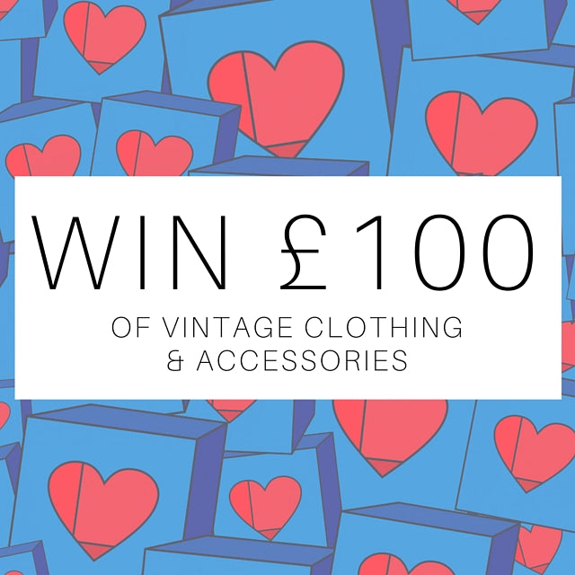 Win £100 of Vintage Clothing & Accessories