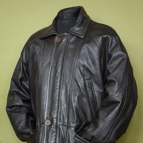 Leather Jacket XL