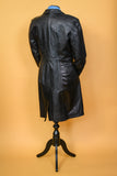 Leather Coat S