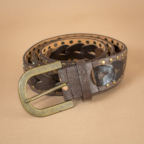 Faux Leather Belt O/S