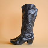 Leather Boots UK5