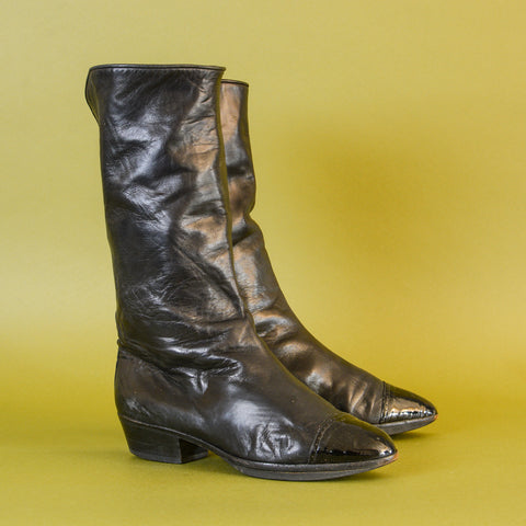 Leather Boots UK7