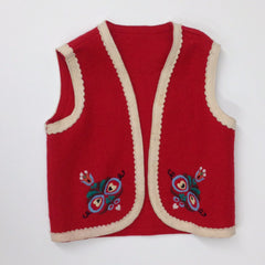 Wool Colorful Vest