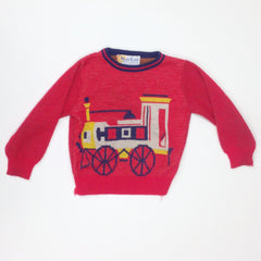 Red Train Sweater