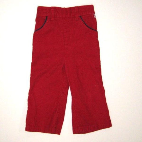 Bright Red Corduroy Pants