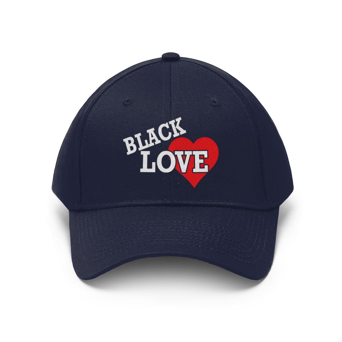 Black Love_Heart Hat
