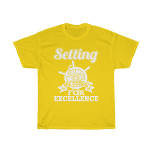 Setting The Course For Excellence T-Shirt